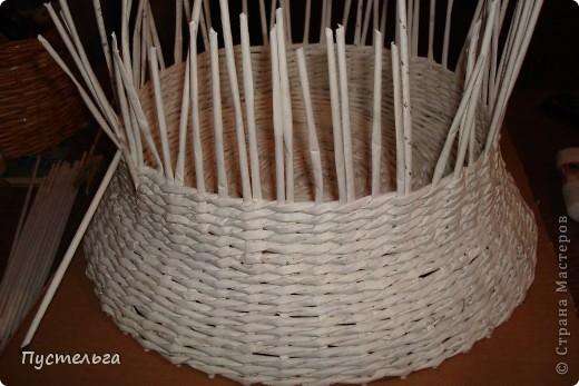 Поделка, изделие Декупаж, Плетение: Столик для вязания Бумага, Картон. Фото 6