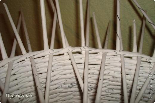 Поделка, изделие Декупаж, Плетение: Столик для вязания Бумага, Картон. Фото 9