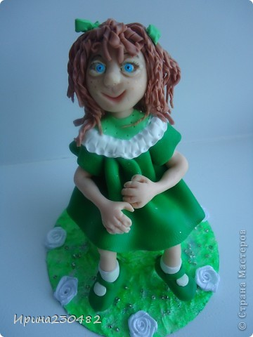 Куклы Лепка: Изумрудинка Пластика. Фото 1