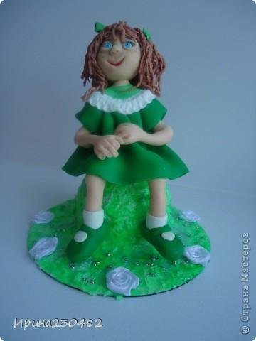 Куклы Лепка: Изумрудинка Пластика. Фото 2
