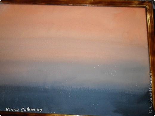 Мастер-класс Роспись: Делаем фон для картины из солёного теста. Бумага, Гуашь. Фото 4
