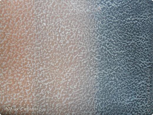 Мастер-класс Роспись: Делаем фон для картины из солёного теста. Бумага, Гуашь. Фото 7