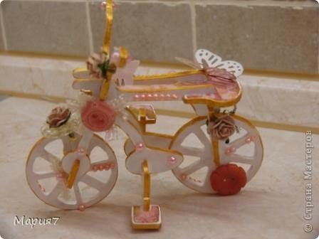 Велосипед из бисера своими руками 23