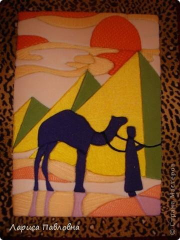 Картина, панно, рисунок Пэчворк: пэчворк без иголки Ткань. Фото  3