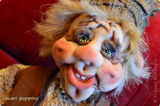 Куклы Шитьё: Моя новая кукла Капрон. Фото 4