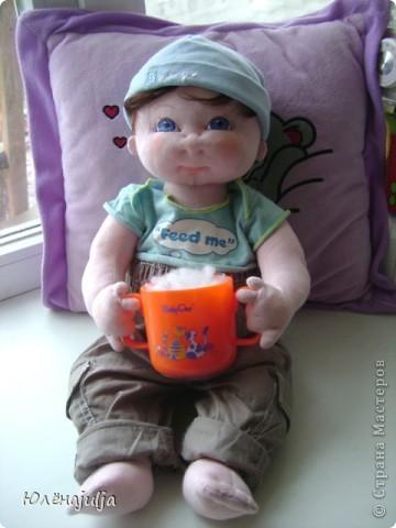 Игрушка, Куклы, Мастер-класс Шитьё: Мастер-класс 2 часть Ткань. Фото 1