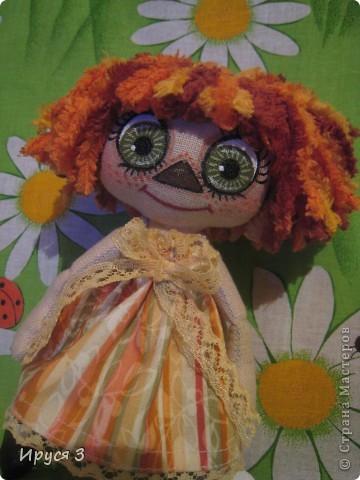 Игрушка, Куклы, Мастер-класс Шитьё: Куколка Анютка ( мастер-класс ) Нитки, Ткань. Фото 1