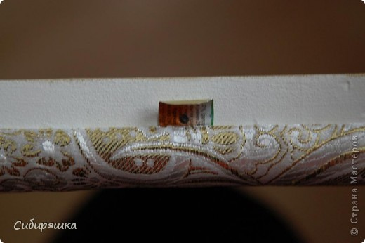 "Мастер-класс Декупаж: Шкатулка ""Незнакомка"" МК начало Бусинки, Клей, Салфетки, Ткань. Фото 25"