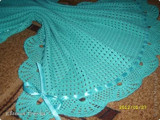 Вязаное одеяло для новорожденного крючком » Кладезь.Ру - Мастер