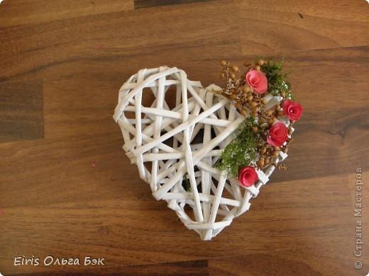 Декор предметов, Поделка, изделие Вырезание, Плетение: Сердечки, колокольчики и