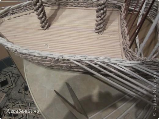 Мастер-класс Плетение: Небольшое отступление от курса. Бумага газетная, Трубочки бумажные. Фото 31