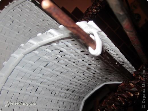 Мастер-класс Плетение: Небольшое отступление от курса. Бумага газетная, Трубочки бумажные. Фото 46