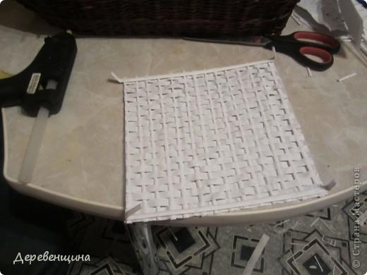 Мастер-класс Плетение: Небольшое отступление от курса. Бумага газетная, Трубочки бумажные. Фото 45