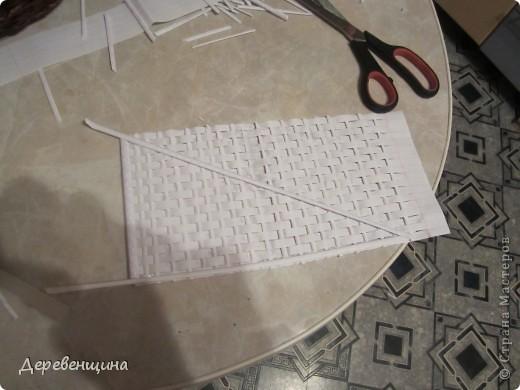 Мастер-класс Плетение: Небольшое отступление от курса. Бумага газетная, Трубочки бумажные. Фото 49