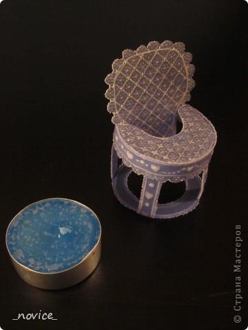 Поделка, изделие Пергамано: Детский стульчик Бумага. Фото 5