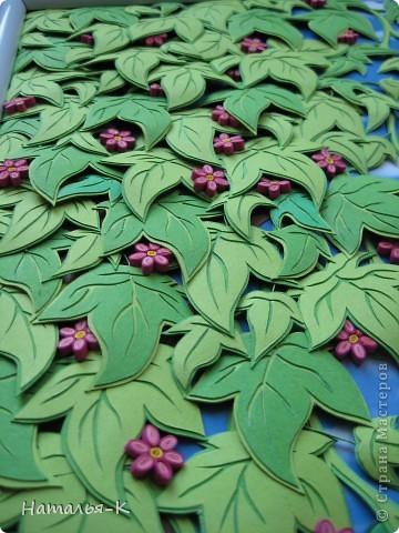 Мастер-класс Аппликация: Объёмные листья. Картон, Клей. Фото 1