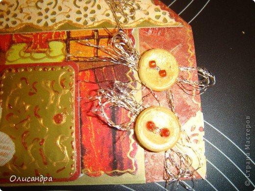 """Давно не скрапила...Соскучилась по этому занятию...И опять было страшно начинать... Продолжаю делать домики, """"заклинило"""" ...:)) МК по закладочкам здесь... <a href=""""http://scraphouse.ru/masterclass/flowers-and-decorations/beautiful-bookmarks-for-book.html"""" title=""""http://scraphouse.ru/masterclass/flowers-and-decorations/beautiful-bookmarks-for-book.html"""">http://scraphouse.ru/masterclass/flowers-and-decorations/beautiful-bookm...</a>. Фото 6"""