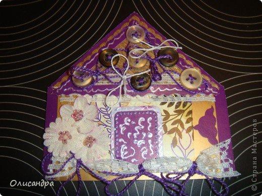 """Давно не скрапила...Соскучилась по этому занятию...И опять было страшно начинать... Продолжаю делать домики, """"заклинило"""" ...:)) МК по закладочкам здесь... <a href=""""http://scraphouse.ru/masterclass/flowers-and-decorations/beautiful-bookmarks-for-book.html"""" title=""""http://scraphouse.ru/masterclass/flowers-and-decorations/beautiful-bookmarks-for-book.html"""">http://scraphouse.ru/masterclass/flowers-and-decorations/beautiful-bookm...</a>. Фото 18"""