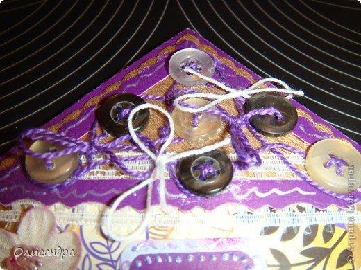 """Давно не скрапила...Соскучилась по этому занятию...И опять было страшно начинать... Продолжаю делать домики, """"заклинило"""" ...:)) МК по закладочкам здесь... <a href=""""http://scraphouse.ru/masterclass/flowers-and-decorations/beautiful-bookmarks-for-book.html"""" title=""""http://scraphouse.ru/masterclass/flowers-and-decorations/beautiful-bookmarks-for-book.html"""">http://scraphouse.ru/masterclass/flowers-and-decorations/beautiful-bookm...</a>. Фото 22"""