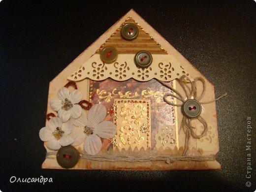 """Давно не скрапила...Соскучилась по этому занятию...И опять было страшно начинать... Продолжаю делать домики, """"заклинило"""" ...:)) МК по закладочкам здесь... <a href=""""http://scraphouse.ru/masterclass/flowers-and-decorations/beautiful-bookmarks-for-book.html"""" title=""""http://scraphouse.ru/masterclass/flowers-and-decorations/beautiful-bookmarks-for-book.html"""">http://scraphouse.ru/masterclass/flowers-and-decorations/beautiful-bookm...</a>. Фото 2"""
