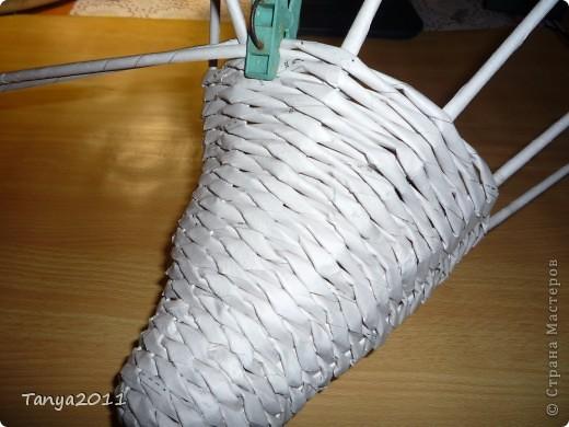 Мастер-класс Плетение: Плетём из газет оленя. Часть 2. Бумага газетная. Фото 16