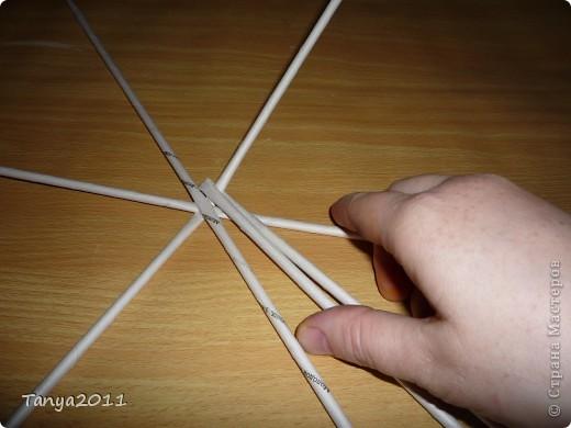 Мастер-класс Плетение: Плетём из газет оленя. Часть 2. Бумага газетная. Фото 26