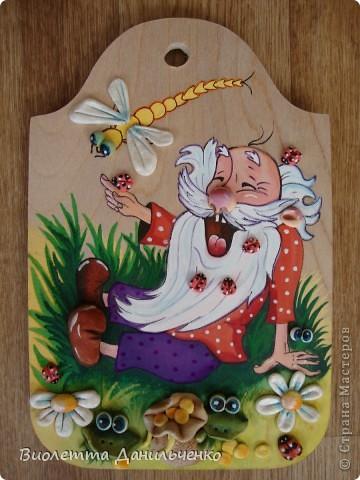 Декор предметов Лепка: Досточки и подсолнухи к 8 марта Тесто соленое 8 марта. Фото 3