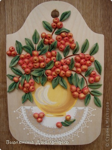 Декор предметов Лепка: Досточки и подсолнухи к 8 марта Тесто соленое 8 марта. Фото 6