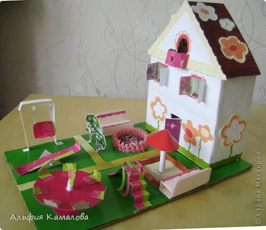 Поделки дома детские