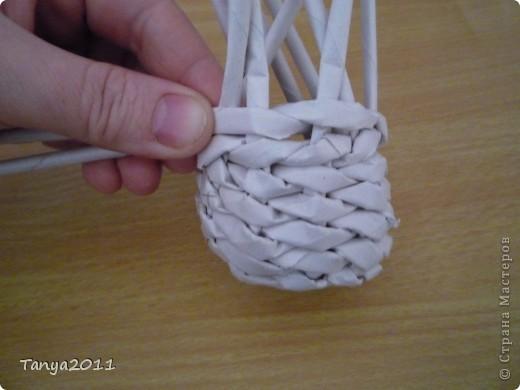 Мастер-класс Плетение: Плетём из газет оленя. Часть 2. Бумага газетная. Фото 40