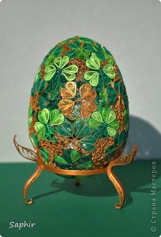 Яйца фаберже квиллинг мастер класс идеи #4