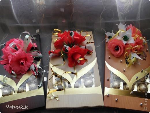 Декор предметов, Свит-дизайн Моделирование: ОФОРМЛЯШКИ Бумага гофрированная 8 марта. Фото 1