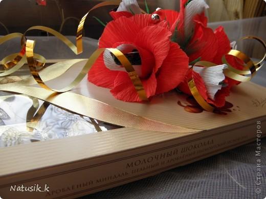 Декор предметов, Свит-дизайн Моделирование: ОФОРМЛЯШКИ Бумага гофрированная 8 марта. Фото 3