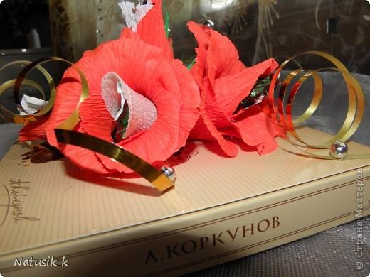 Декор предметов, Свит-дизайн Моделирование: ОФОРМЛЯШКИ Бумага гофрированная 8 марта. Фото 4