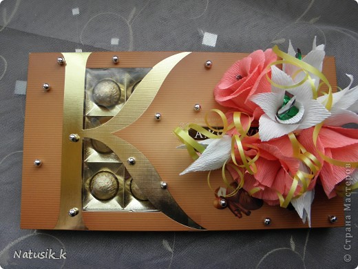 Декор предметов, Свит-дизайн Моделирование: ОФОРМЛЯШКИ Бумага гофрированная 8 марта. Фото 10