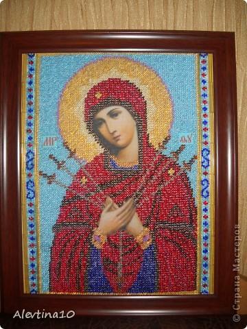 Икона семистрельная вышивка бисером ...: ikona-semistrel-naya-vy-shivka-biserom.moi-naryady.ru