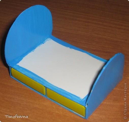 Мебель из спичечных коробков своими руками инструкция 60