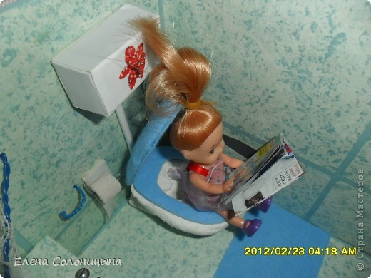 Как сделать унитаз для кукол поэтапно