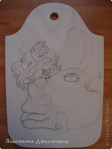 Мастер-класс Лепка: МК (досочки) Тесто соленое. Фото 2