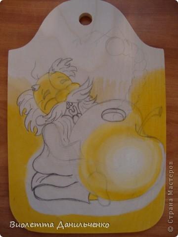 Мастер-класс Лепка: МК (досочки) Тесто соленое. Фото 3