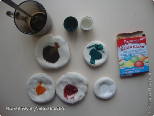Мастер-класс Лепка: МК (досочки) Тесто соленое. Фото 10