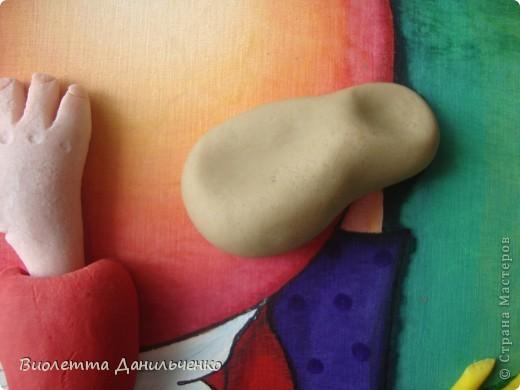 Мастер-класс Лепка: МК (досочки) Тесто соленое. Фото 22