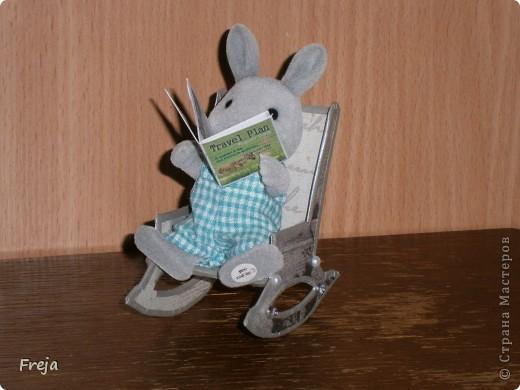 Игрушка, Куклы, Мастер-класс Моделирование: Кресло-качалка Бумага, Картон, Коробки. Фото 9