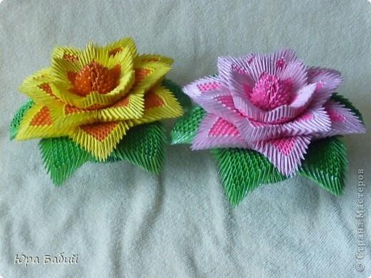 Оригами модульное: Лилия