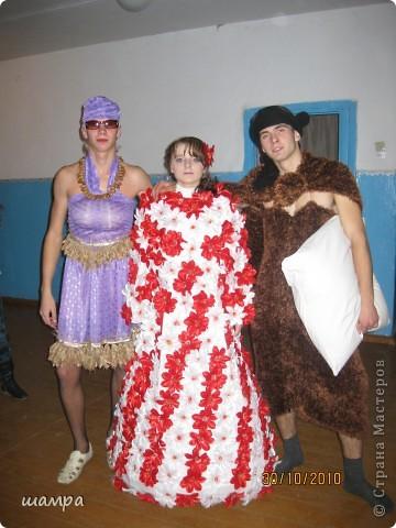 Гардероб: Конкурсное платье на осенний бал Отдых.  Фото 6.