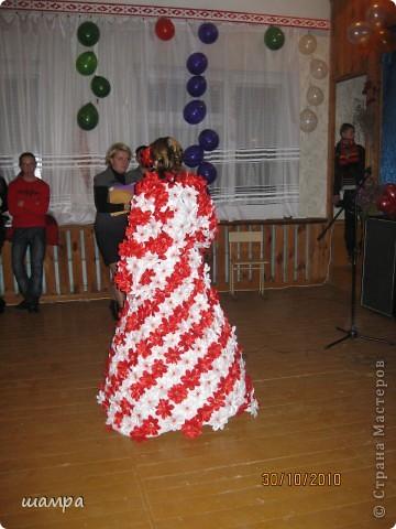 Гардероб: Конкурсное платье на осенний бал Отдых.  Фото 2.