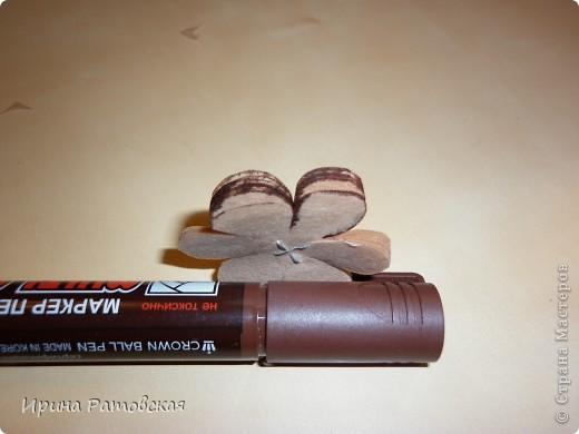 Мастер-класс, Открытка: Винтажные цветочки Бумага. Фото 6
