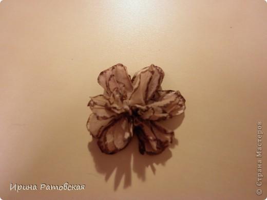 Мастер-класс, Открытка: Винтажные цветочки Бумага. Фото 8