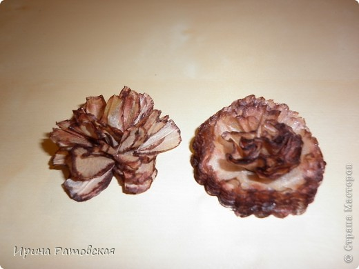 Мастер-класс, Открытка: Винтажные цветочки Бумага. Фото 9