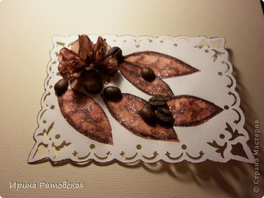 Мастер-класс, Открытка: Винтажные цветочки Бумага. Фото 11